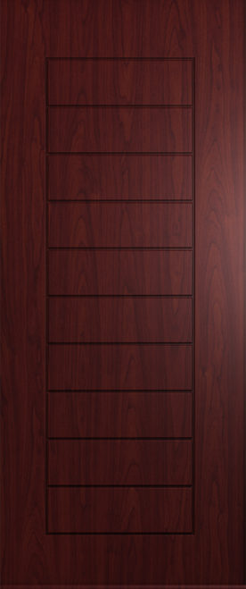 A Solidor Windsor in Rosewood red