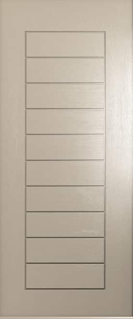 Solid Cream Windsor Door