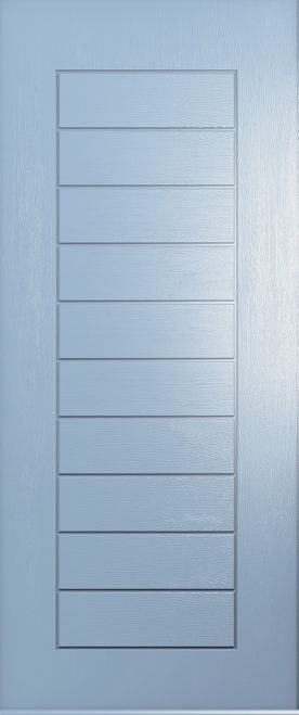 A Solidor Windsor door in duck egg blue