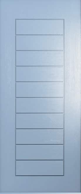 A Solidor Windsor door in duck egg blue