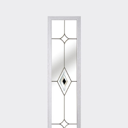 A glass pattern for a Solidor front door
