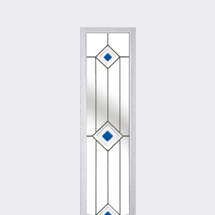 Patterned glass to use in a Solidor front door
