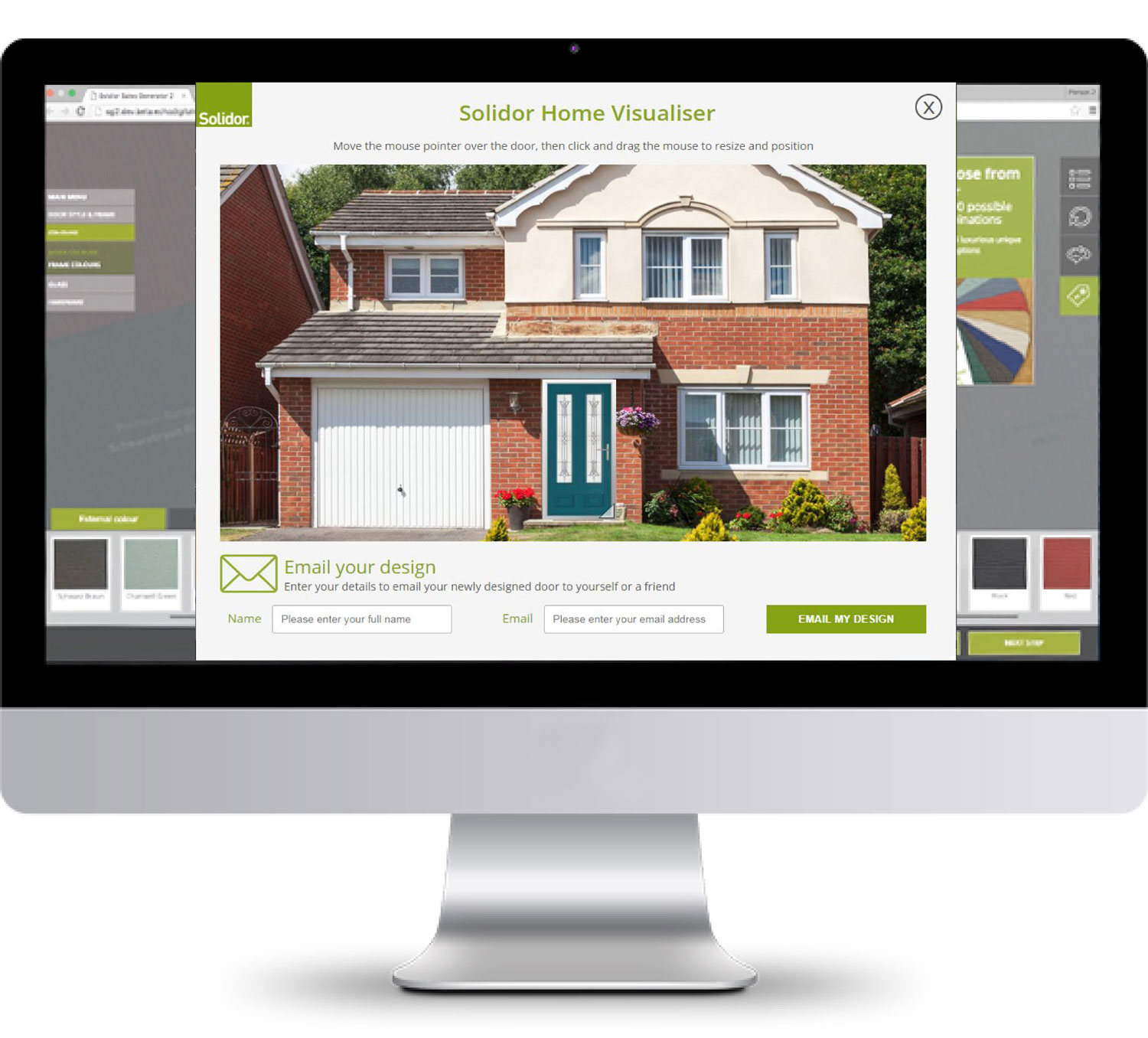 So go on give it a try http www solidor co uk design a door