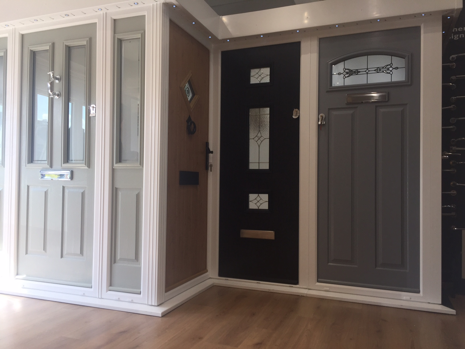a collection of door ranges