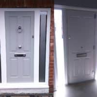 grey ludlow front door