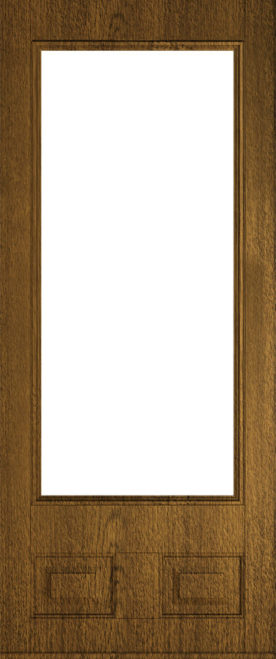 alnwick glazed luxury mocha front door