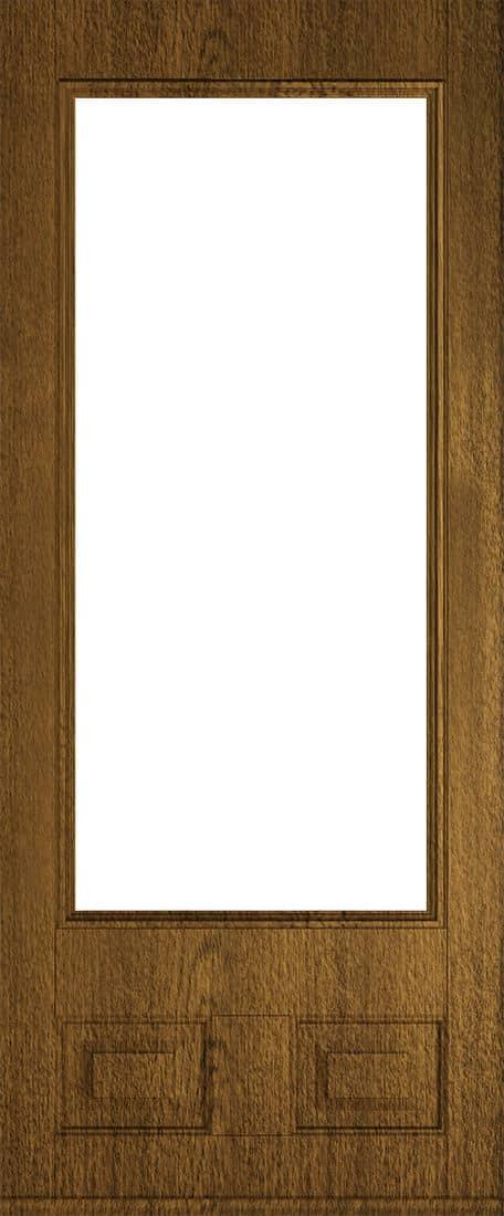 alnwick glazed luxury mocha front door