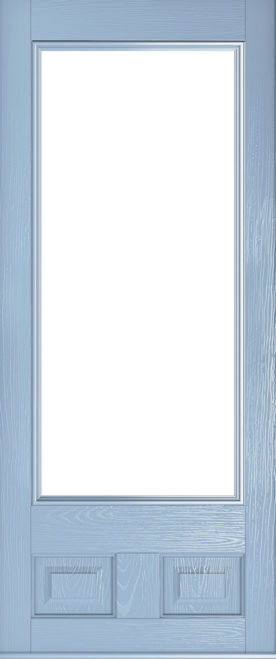 duck egg blue alnwick glazed door