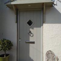 A solidor front door