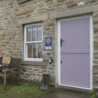 lavender stable door