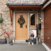 A Solidor dressed for Christmas